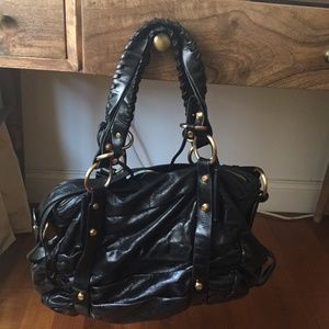 Francesco Biasia Authentic Leather Black Bag